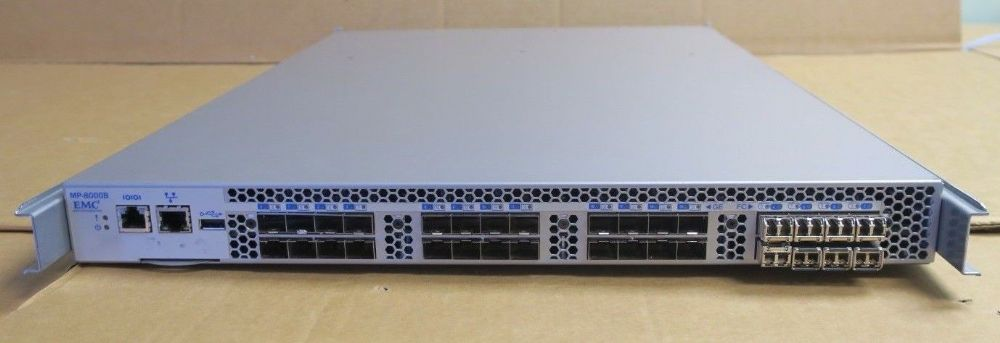 Brocade 8000 MP-8000B 32 Port Active 24x 10GbE/FCoE 8x 8Gbps Fibre Switch+8x SFP